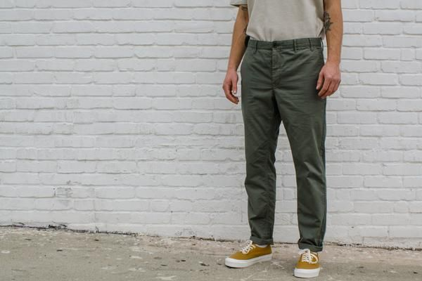 NORSE PROJECTS Aros Light Twill Dried Olive