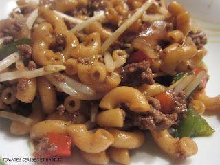 Macaroni chinois *** Simply delicious