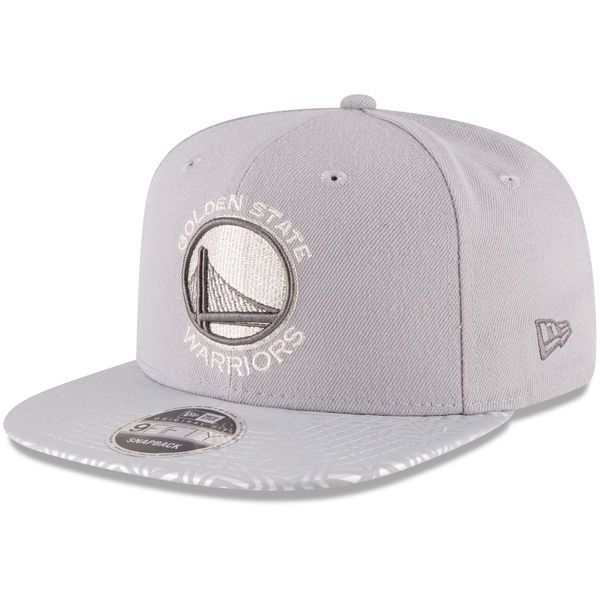 Golden State Warriors New Era 2017 All-Star Game Kaleidastar 9FIFTY Snapback Adjustable Hat - Gray - $29.99