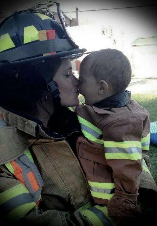 Firefightin' Mama   Shared by LION