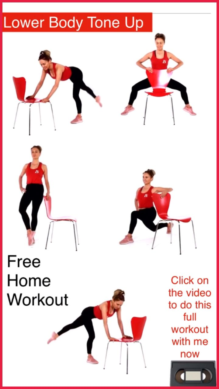 LEG WORKOUT VIDEO – Leg and Thigh Exercises for Women