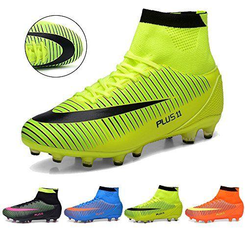 huge discount cef20 8d7cf J T Botas de Fútbol Adolescentes AG Profesionales Aire Libre Atletismo Turf  Training Zapatos de fútbol