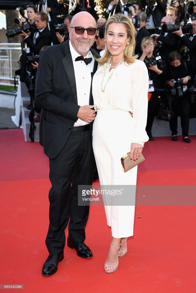 Lorenzo Soria and Lilla Soria attend the 'Okja' screening during the 70th annual Cannes Film Festival at Palais des Festivals on May 19, 2017 in Cannes, France.