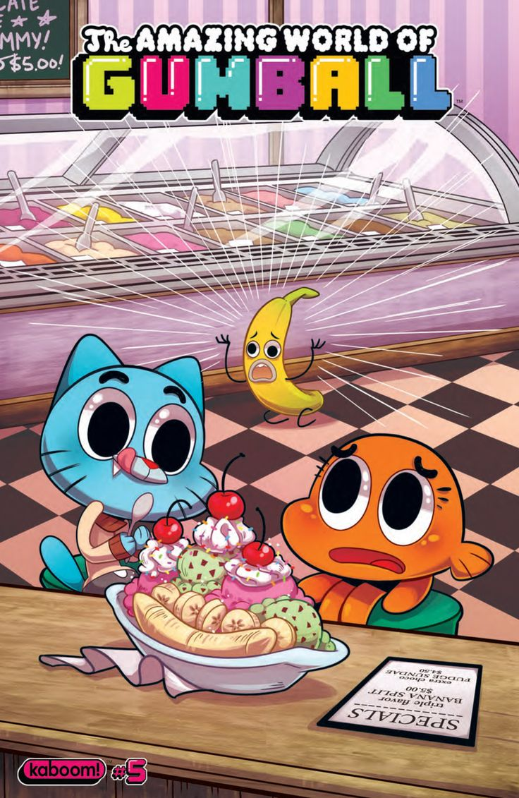 Preview: The Amazing World of Gumball #5, http://all-comic.com/2014/preview-amazing-world-gumball-5/