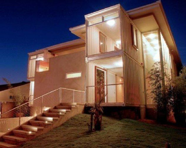 photo by demaria design redondo beach house this beach house in california was built using eight recycled shipping containers shipping