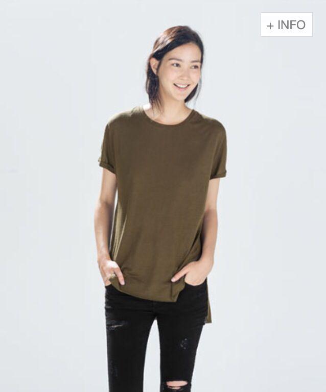 Zara.com #zara#fashion#tshirt