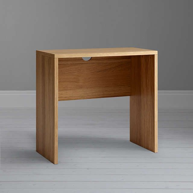 BuyFsc Abacus Small Desk Oak Online at johnlewis.com