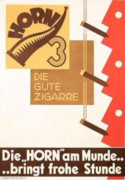 PSY poster: Horn 3 - Die Gute Zigarre