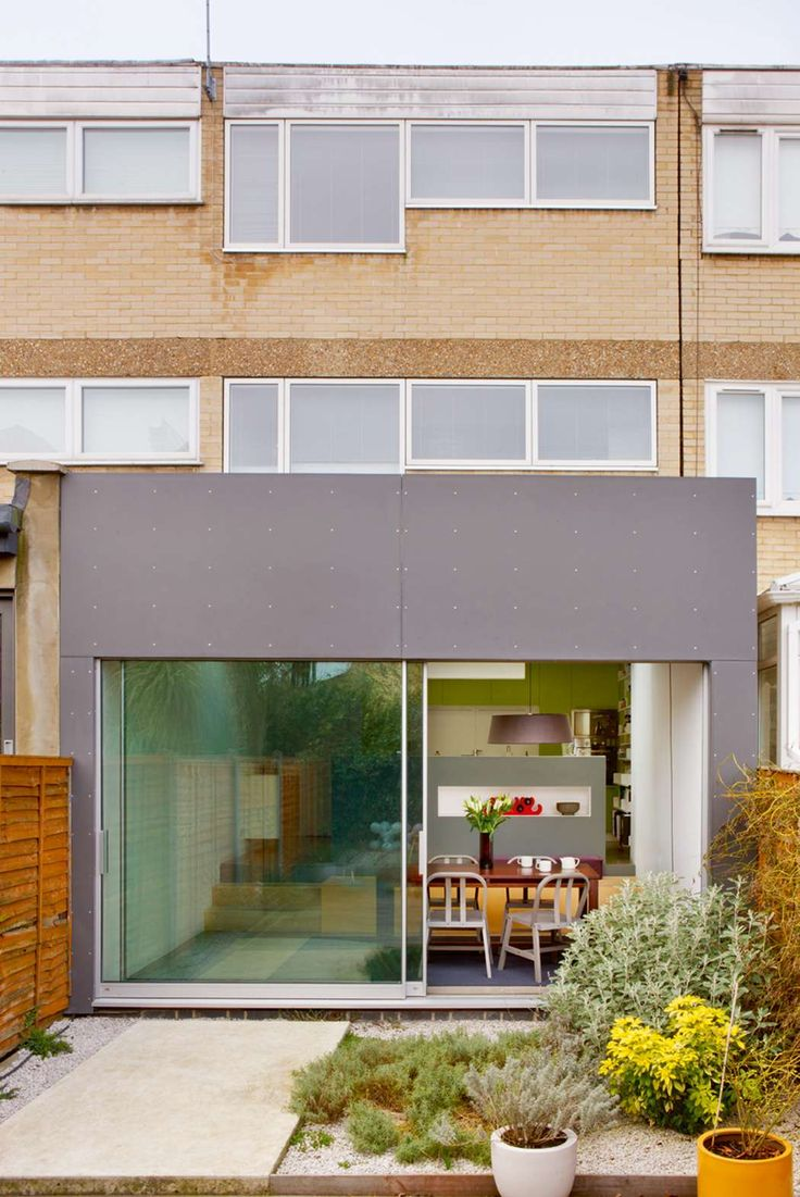 Buying this ex-council house was the only way the owners could afford to upgrade from their pokey flat. The couple are both architects and could see past the dull facade of the 1960s terrace, and the resulting home does not disappoint. #renovation #London
