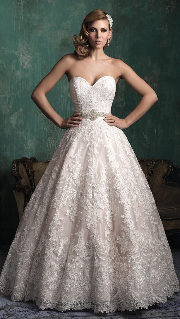 Allure Couture Fall 2015 Wedding Dress C345F
