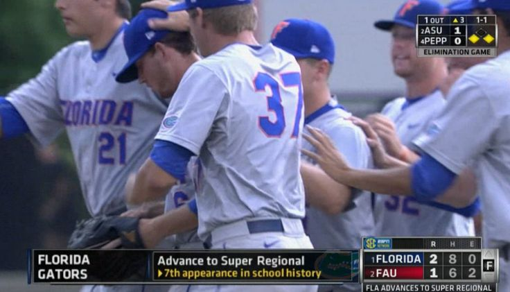Super Regionals Bound!  @GatorZoneBB advances to the Super Regionals with a 2-1 win over FAU!
