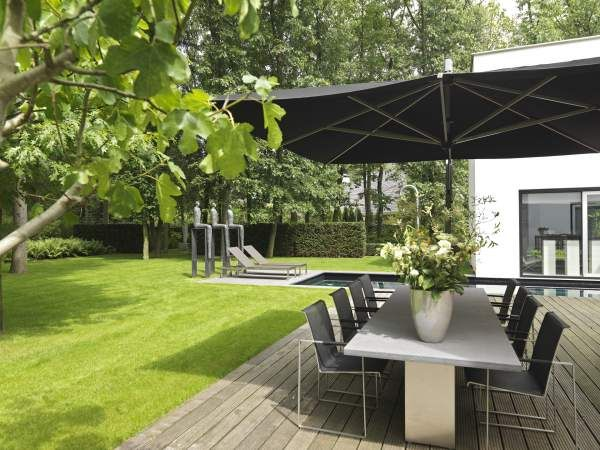 Architectonische bostuin puurgroen garden decor pinterest gardens boss and toe - Outdoor decoratie zwembad ...