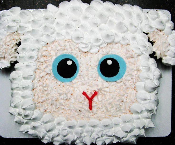 Pull Apart Lamb Cupcake cake from Sugarush in Red Bank, NJ