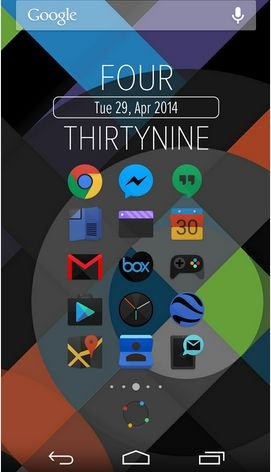 Black Moonshine Launcher Theme Versi 1.61 Apk Download