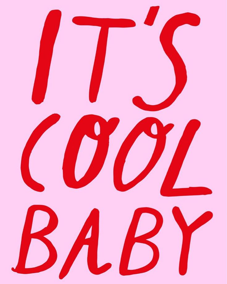 it's cool baby // @shopriffraff