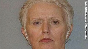 """Catherine Greig    BOSTON -- A judge sentenced Catherine Greig, longtime girlfriend James """"Whitey"""" Bulger, to eight years in prison on Tuesday for helping the Boston mobster stay on the run for 16 years.  June 12, 2012  http://www.ktla.com/news/landing/ktla-james-whitey-bulger-arrested,0,1723961.story#"""