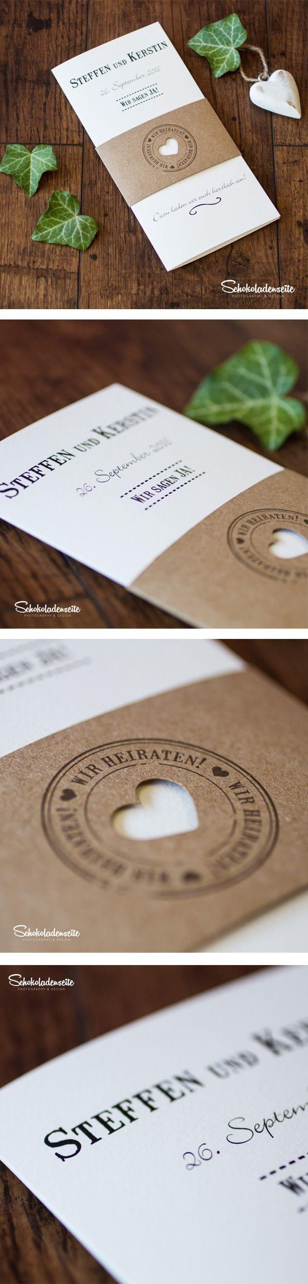 Wunderschöne Schriftgestaltung, liebe zum Detail und hochwertige Papiere machen…