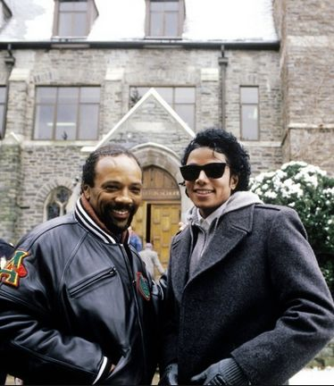legend Michael and Quincy Jones