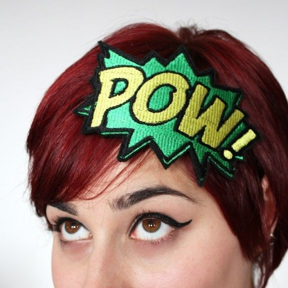 POW headband from JanineBasil Etsy Shop