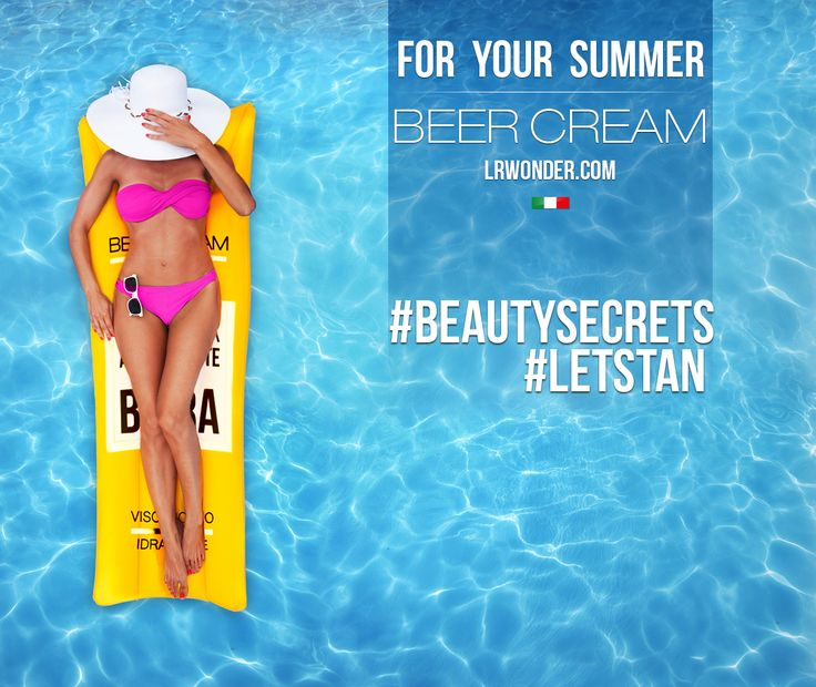 Beer Cream for your summer!