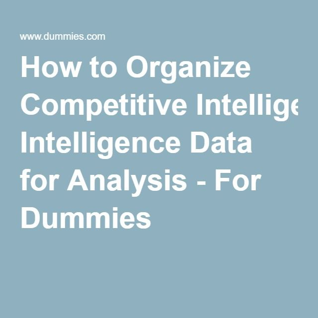 Best  Competitive Intelligence Ideas On   Bi Business