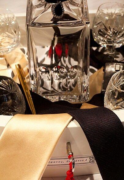 Oppulent decoration and Baccarat serving set