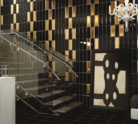 Les 25 meilleures id es de la cat gorie salle de bains art for Carrelage metro argent