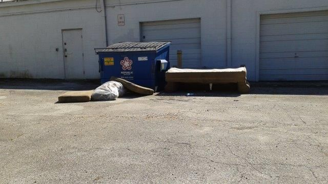 Has Someone Been Illegally Dumping? At lunchtime you step out to the employee break area to get some fresh air and out of the corner of your eye you see something out of place.  Someone has taken it upon themselves to dump an old couch right next to your dumpster!  Boy, today keeps getting better! You Need: Bulk Debris Removal http://csgcamservices.com/services.html#bulk-debris-removal #BulkDebris #CSGConSvcGrp