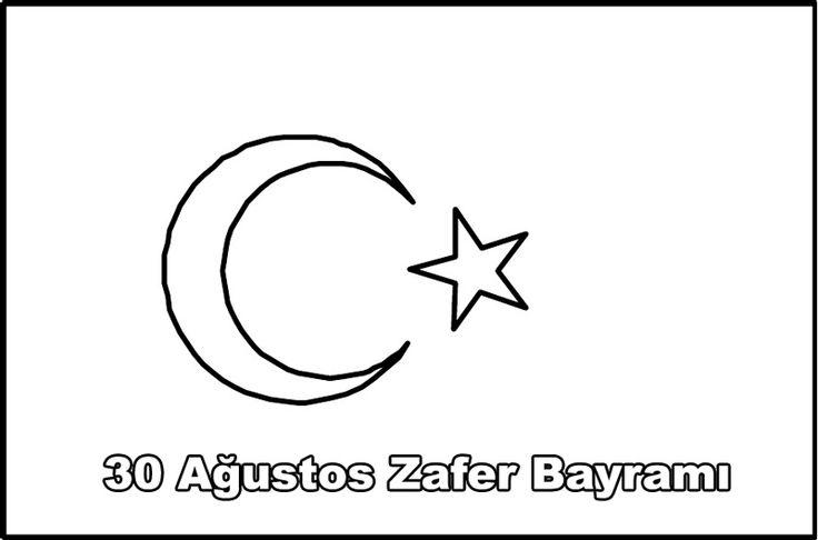 30 Ağustos Zafer Bayramı Boyama