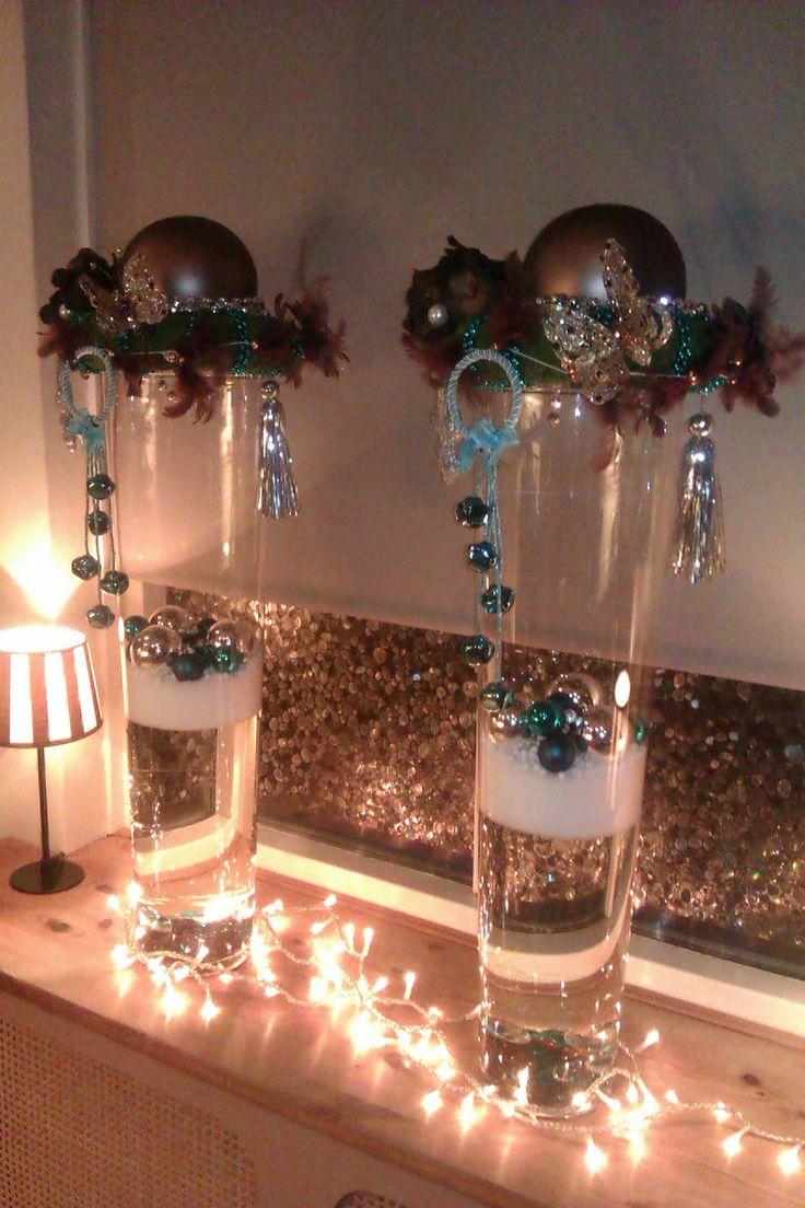 135 beste afbeeldingen over bloemschikken op pinterest deko kerst thuis en kerstmis - Deco tussen ...