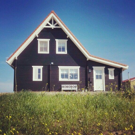 Zelfs je huis ziet er mooier uit als het mooi weer is! Fijn wonen Finnhouse!
