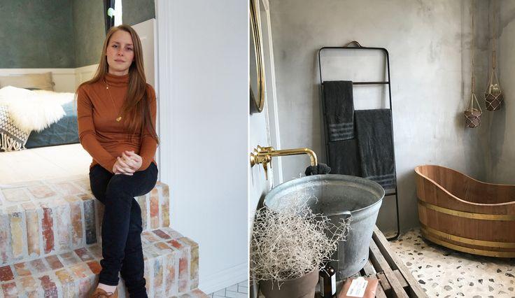 Susans københavner-hjem er indrettet i en rå, industriel stil, som man ikke finder andre steder. Kom med indenfor og lad dig forføre af den unikke luksuslejlighed lige her.