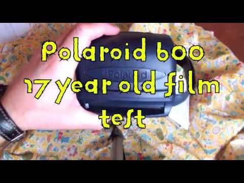 POLAROID 600 FILM TEST 17 YEARS OUT OF DATE