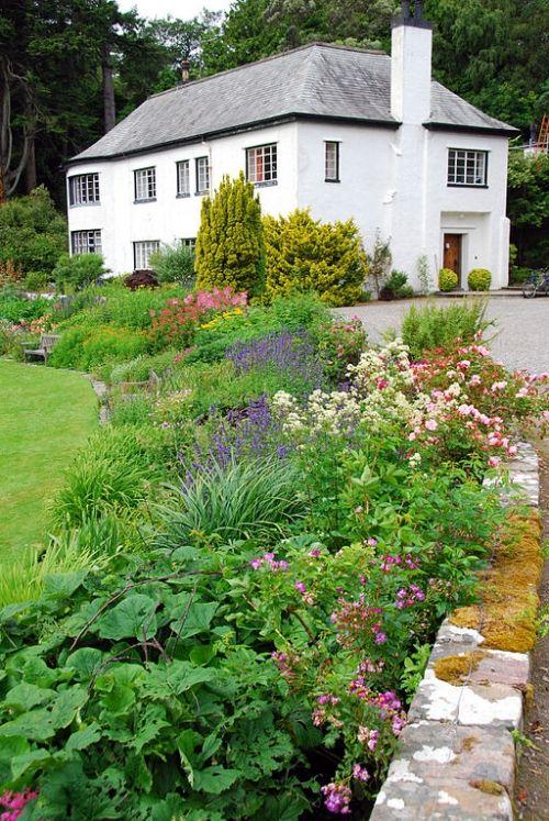 Inverewe Botanical Gardens, north of Poolewe in Wester Ross, Highlands.