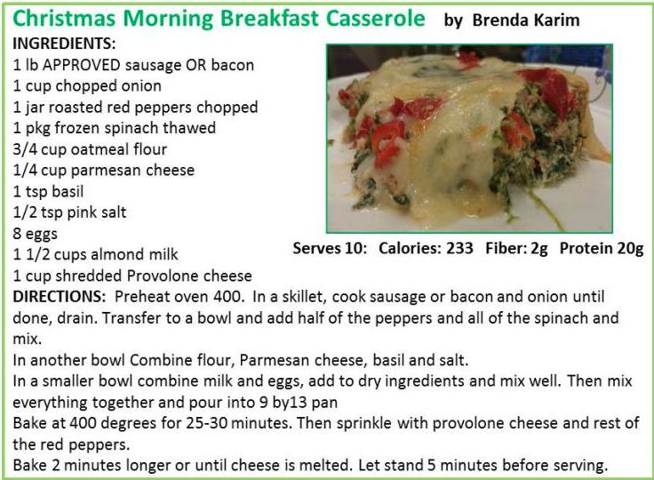 Steve the food guy friendly breakfast casserole