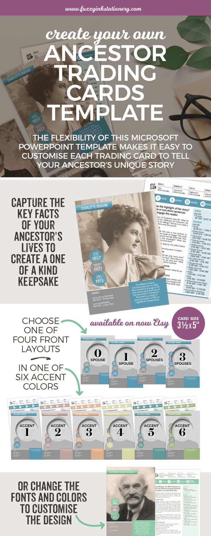 Mer enn 25 bra ideer om powerpoint 2007 download p pinterest tell your family history with this collectible keepsake use your genealogy research to create your alramifo Choice Image