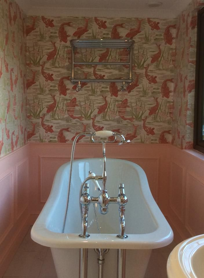 Website Picture Gallery Beautiful bathroom by Kim Adele Ivory using Blendworth Lagoon scheduled via http