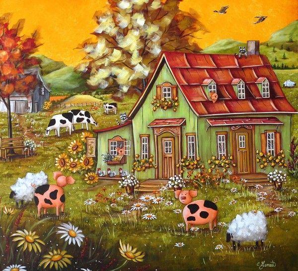 10-Art naif de Christine Genest
