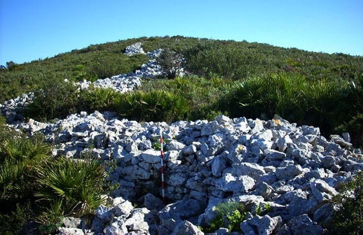 ArqueoLugares: poblado íbero del Pico del Águila (Denia, Alicante) (PV) E.