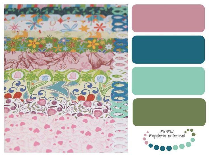 Como dijimos ayer vamos con otra #gamadecolores esta vez de los #diseños elegidos para hacer los #álbumes, en #tonos mates #paletadecolores #colores #palette  Mañana más, si os gusta no dudéis en entrar en www.pimpiu.com y conocer nuestros #productos