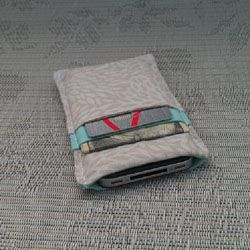 DIY Skinny Wallet- Just big enough for your ID, your phone and either cash or a card