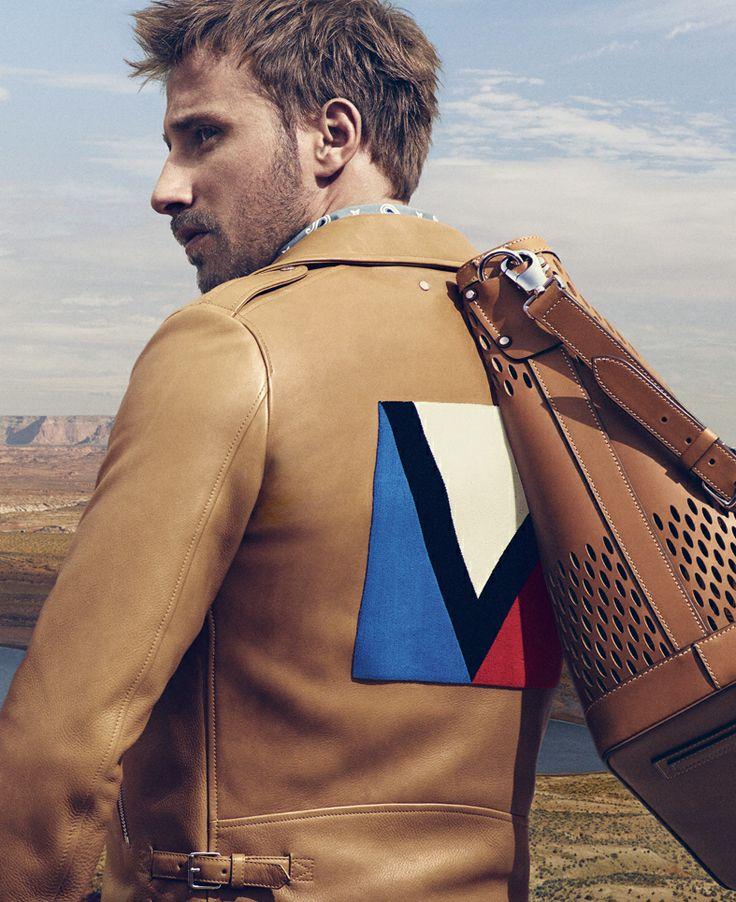 Louis Vuitton Men's Spring/Summer 2014 Fashion Campaign featuring Matthias Schoenaerts, shot by Mikael Jansson.