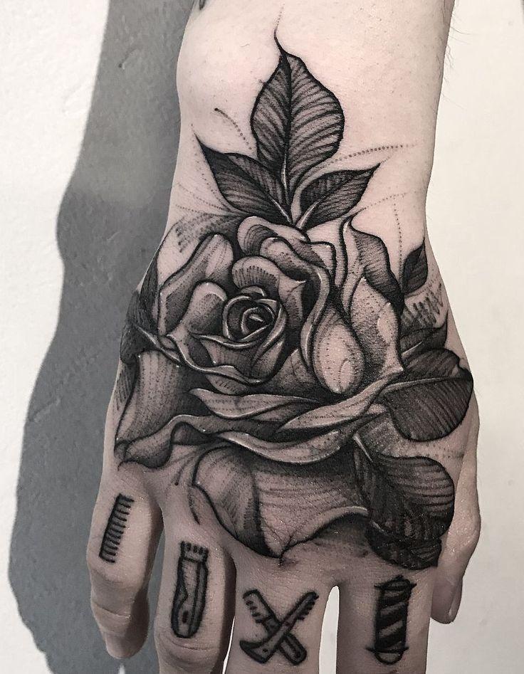 Füttere deine Tintensucht mit 50 der schönsten Rose Tattoo Designs für Männer und Frauen, … – Tattoos