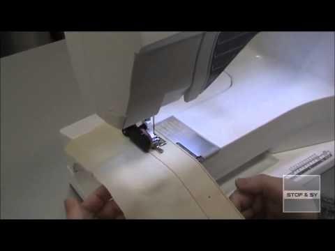 Sy automatiske knaphuller på nyere Husqvarna Viking symaskiner