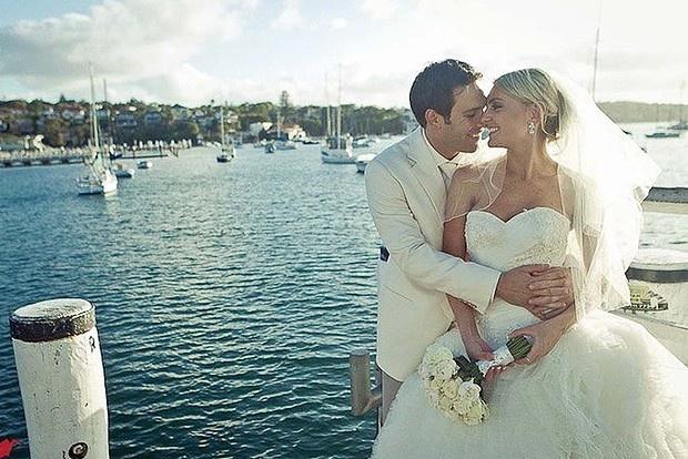 Love in the afternoon. Justine and Elliott Wasserman's Watson's Bay wedding.
