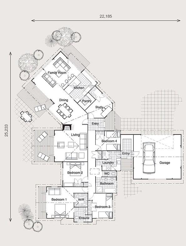 Longridge | Plans | Classic | Lockwood NZ | Lockwood Homes