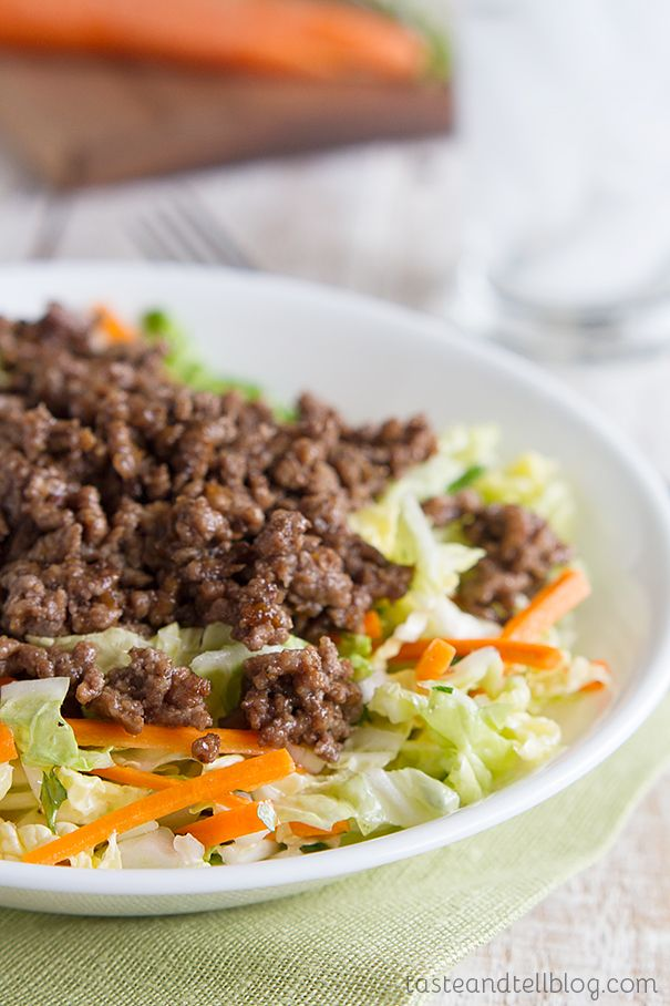 Asian Beef and Cabbage Salad Recipe