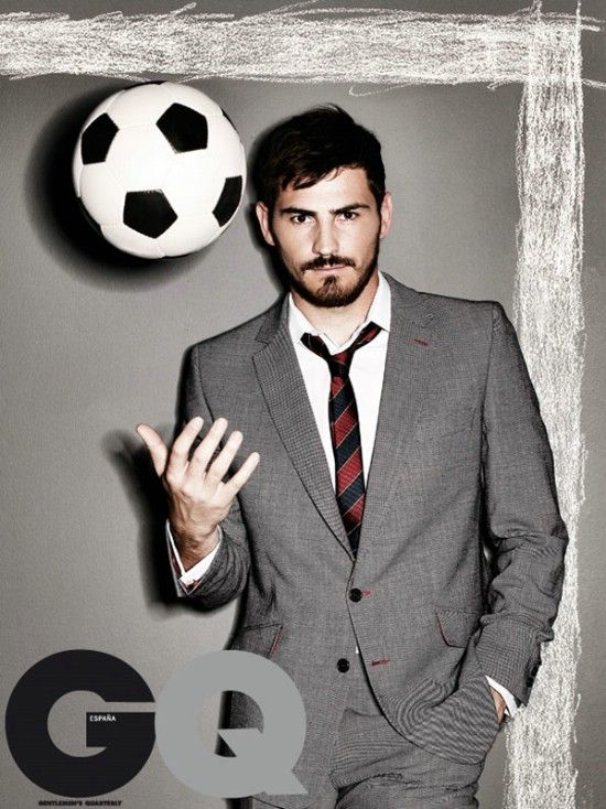 Iker Casillas, possibly the best goalie that ever existed also a HOTTIE,