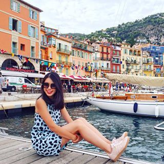 In love with this charming and colourful fishing village just fifteen minutes out of Nice.     See more travel diaries on: http://www.kisforkani.com/category/travel/