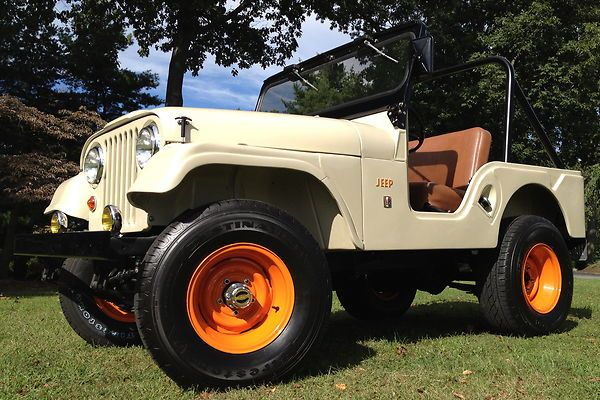 1967 Jeep CJ-5 with orange rims